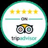 5 stars trip advisor sticker